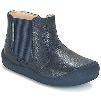 鞋子 儿童 短筒靴 Start Rite FIRST CHELSEA 海蓝色