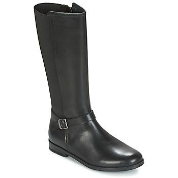 鞋子 女孩 都市靴 Start Rite GRACE LONG 黑色