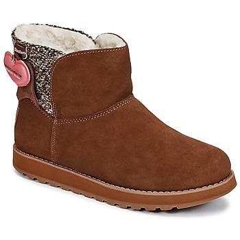 鞋子 女士 短筒靴 Skechers 斯凯奇 KEEPSAKES 棕色