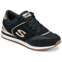 鞋子 女士 球鞋基本款 Skechers 斯凯奇 SUNLITE 黑色 / 金色