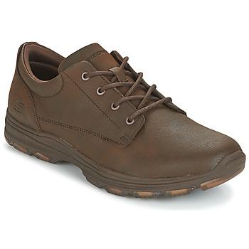 鞋子 男士 球鞋基本款 Skechers 斯凯奇 MENS USA 棕色