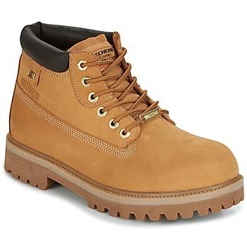 鞋子 男士 短筒靴 Skechers 斯凯奇 SERGEANTS 驼色