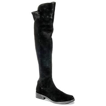 鞋子 女士 绑腿 Buffalo NUPAN 黑色