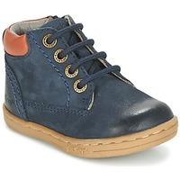 鞋子 男孩 短筒靴 Kickers TACKLAND 海蓝色