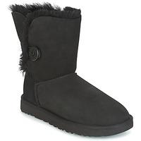 鞋子 女士 短筒靴 UGG BAILEY BUTTON II 黑色