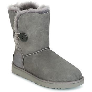 鞋子 女士 短筒靴 UGG BAILEY BUTTON II 灰色