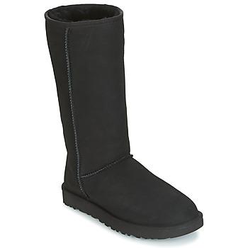 鞋子 女士 都市靴 UGG CLASSIC TALL II 黑色