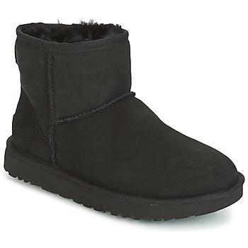 鞋子 女士 短筒靴 UGG CLASSIC MINI II 黑色