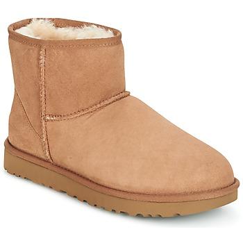 鞋子 女士 短筒靴 UGG CLASSIC MINI II 棕色