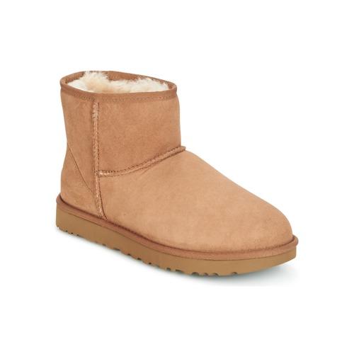鞋子 女士 短筒靴 UGG CLASSIC MINI II 驼色