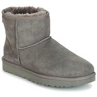 鞋子 女士 短筒靴 UGG CLASSIC MINI II 灰色