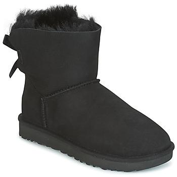 鞋子 女士 短筒靴 UGG MINI BAILEY BOW II 黑色