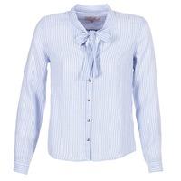 衣服 女士 衬衣/长袖衬衫 Cream CAMA STRIPED SHIRT 蓝色
