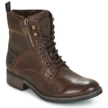 鞋子 女士 短筒靴 Dockers by Gerli LOUZA 咖啡色