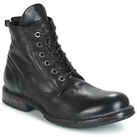 鞋子 男士 短筒靴 Moma CUSNA NERO 黑色