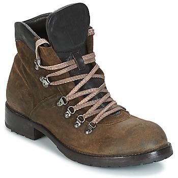 鞋子 男士 短筒靴 Moma MARTENS CORDA/ COSNA TESTA DI MORO 卡其色 / 棕色
