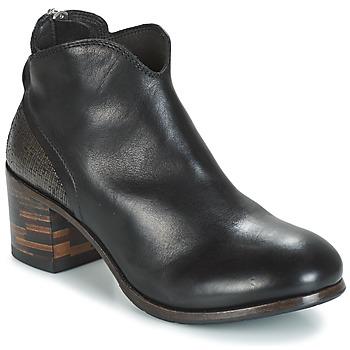 鞋子 女士 短筒靴 Moma CUSNA NERO/ TALON TACO MIX, ARRIRE AFRICA 黑色 / 银色