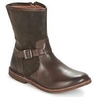 鞋子 女士 短筒靴 Kickers CREEK 棕色 / Fonce