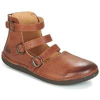 鞋子 女士 平底鞋 Kickers HONORINE 驼色