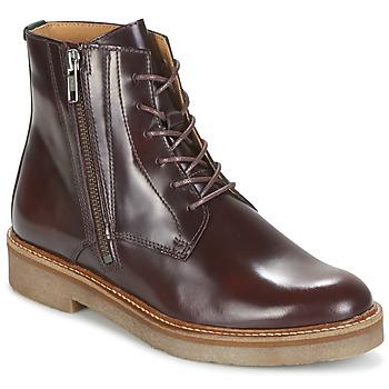 鞋子 女士 短筒靴 Kickers OXFOTO 波尔多红