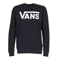 衣服 男士 卫衣 Vans 范斯 VANS CLASSIC CREW 黑色