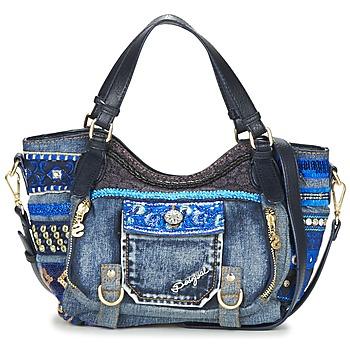 包 女士 肩背包 Desigual BOLS_ROTTERDAM MINI EXT.EXOTIC 黑色 / 蓝色
