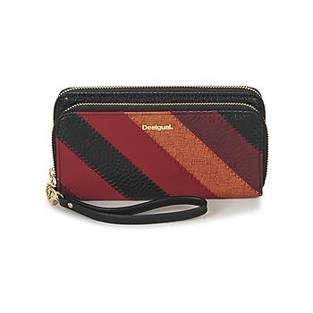 包 女士 钱包 Desigual MONE_JUNO TWO LEVELS 黑色 / 红色