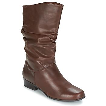 鞋子 女士 都市靴 Spot on LAVAS 驼色