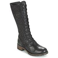 鞋子 女士 都市靴 Pataugas DOLCE 黑色