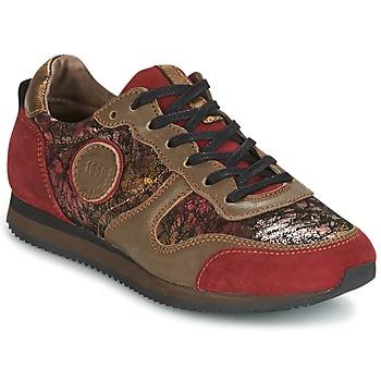 鞋子 女士 球鞋基本款 Pataugas IDOL 红色 / 棕色