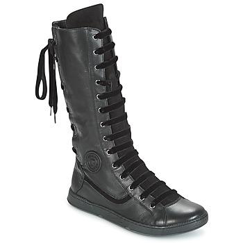 鞋子 女士 都市靴 Pataugas JINA 黑色