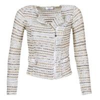 衣服 女士 外套/薄款西服 Le Temps des Cerises MIRABEAU 米色 / 白色