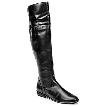 鞋子 女士 綁腿 So Size HOLA 黑色