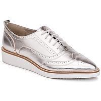 鞋子 女士 系带短筒靴 KG by Kurt Geiger KNOXY-SILVER 银色