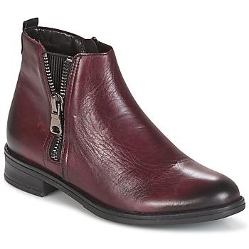 鞋子 女士 短筒靴 Remonte LOLIPO 波尔多红