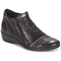 鞋子 女士 短筒靴 Remonte LOUNA 黑色