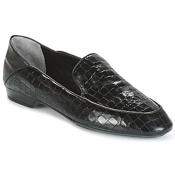 鞋子 女士 皮便鞋 Robert Clergerie FANIN-COCCO-AGNEAU-NOIR 黑色