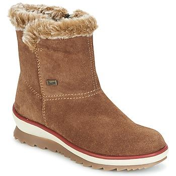 鞋子 女士 短筒靴 Rieker 瑞克尔 BATIA 棕色