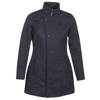 衣服 女士 棉衣 G-Star Raw MINOR CLASSIC PADDED SLIM COAT 黑色