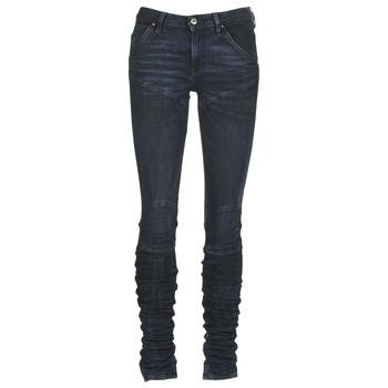 衣服 女士 牛仔铅笔裤 G-Star Raw 5620 STAQ 3D MID SKINNY WMN 海蓝色