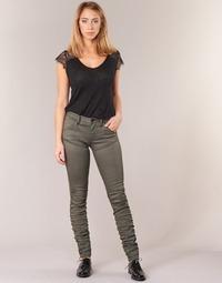 衣服 女士 牛仔铅笔裤 G-Star Raw 5620 STAQ 3D MID SKINNY COJ WMN 卡其色