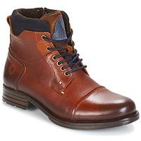 鞋子 男士 短筒靴 Coxx Borba AGOZ 驼色 / 蓝色