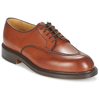 鞋子 男士 德比 Barker PARIS 玫瑰色