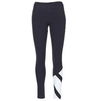衣服 女士 紧身裤 Adidas Originals 阿迪达斯三叶草 EQT LEGGINGS 黑色 / 白色