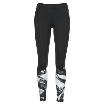 衣服 女士 紧身裤 adidas Performance 阿迪达斯运动训练 TF TIG LT PR1 黑色