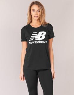 衣服 女士 短袖体恤 New Balance新百伦 NB LOGO T 黑色 / 白色