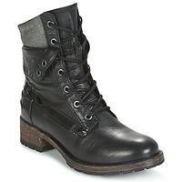 鞋子 女士 短筒靴 Pataugas DEDAY 黑色