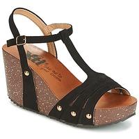 鞋子 女士 凉鞋 Xti 波尔蒂伊  黑色