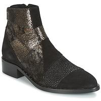 鞋子 女士 短筒靴 Philippe Morvan SILKO V1 CR VEL NOIR 黑色
