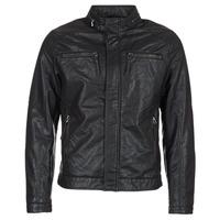衣服 男士 皮夹克/ 人造皮革夹克 Esprit 埃斯普利 VARDA 黑色